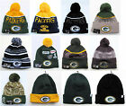 Green Bay Packers Cuffed Beanie Winter Cap Hat NFL Authentic