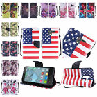 For Alcatel TRU Stellar Premium Design PU Leather Wallet Cover Case