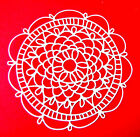 5 Intricate Doily Die Cuts, Birthdays. Any Colour/Card