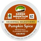 Keurig Brewer Coffee K Cups- Green Mountain Pumpkin Spice 1,12, or 24 Count