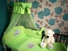 Embroidered BABY BEDDING SET 2 PCS 3, 4, 5 PCS DUVET, QUILT, PILLOW, BUMER to cot bed