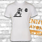 HADOUKEN STREET FIGHTER T-SHIRT - GAMING - NINTENDO - WHITE GILDAN S/STY - RETRO