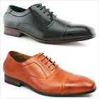 Brand New Men's Classic Lace Up Faux Leather Lining Oxford Dress Flat Shoes