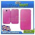 Protective Flip Case Cover for Samsung Galaxy S4 IV i9500 PINK UK
