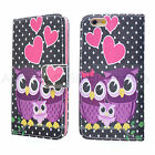 Animal Magnetic Flip Wallet Card Holder PU Leather Stand Case Cover For iPhones