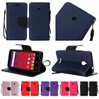 For Alcatel Dawn STREAK Ideal Acquire Premium PU Leather Wallet Flip Cover Case
