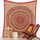 Indian Mandala Tapestry Hippie Wall Hanging Bohemian STAR Bedspread Throw Decor