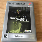 Tom Clancy's Splinter Cell PS2 Playstation 2 Game PAL (Platinum) - FAST POST