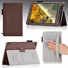 For NVIDIA SHIELD 2 Tablet 8* PU Leather Smart Case Stand Cover Auto Sleep/Wake