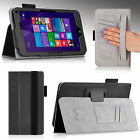 For HP Stream 7 Tablet 7-inch Folio SlimBook Premium PU Leather Case Cover Stand
