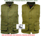 Men's Derby Tweed Gilet / Body Warmer / Waistcoat. Game Shooting / Country wear.