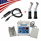 Dental MARATHON Micromotor N3 w/ Electric Motor + 2 Contra Angle Handpieces