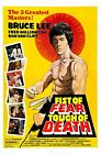 Fist of Fear, Touch of Death Movie POSTER (1980) Action/Adventure