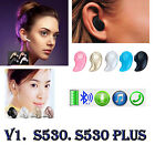 Mini inalámbrico Bluetooth v4.0 earbud deporte auricular invisible EE.UU.