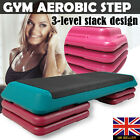 Professional Aerobic Gym Yoga Workout Fitness 4 Block Stepper Bench Step Plate