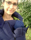 3 IN 1 BABYWEARING PREGNANCY WINTER JACKET FOR FRONT BABY CARRIERS WARM COSY