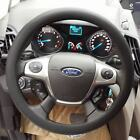 Skidproof Odourless Silicone Eco Rubber Car Auto Steering Wheel Cover Sports New