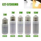 E27 LED Bulb 5W 7W 9W 12W 15W 220V Corn Light Bulbs White 5730SMD Lamp