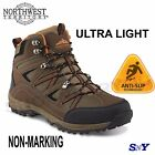 ULTRA LIGHT Hiking Trail Boots Cushioned Lace up HIKER boot Slip resistant nt