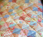 QUALITY APPLIQUE PATCHWORK QUILT KIT WITH TILDA AND GUTTERMAN FABRIC