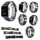 Genuine Leather Bracelets Camouflage outdoors Watch Bands Strap For Apple iWatch