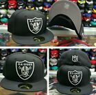 New Era NFL Black Oakland Raiders 59Fifty Fitted Hat Cap