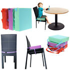 Kids Baby Toddler Increased High Chair Seat Pad Safe Booster Dining Cushion
