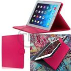 Premium Luxury Leather Folio Cover Case with Stand For Apple HTC Tablet Models