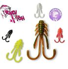 Jig Head Drop Shot Lure Fishing Soft Plastic Baits Crazy Fish ALLURE Perch Chub