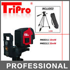 Auto Self Leveling Cross Line Laser Level Bright Red Beam Indoor Outdoor Tripod