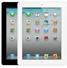 "Apple iPad 4th Generation 16/32/128GB WiFi or Cellular Unlocked 9.7"" White/Black"