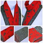 HARRIS TWEED & VINTAGE COUNTRY scarves women's DOG STALLION DUCK