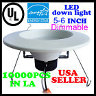 16 PCS  DownLight 12W LED Recessed Trim Dimmable 5/6 Inch Retrofit Down Light UL