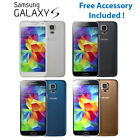 Samsung Galaxy S5 SM-G900F 16GB Unlocked Smartphone White/Black/Blue/Gold Mobile
