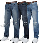 NEW MENS JEANS DESIGNER STRAIGHT LEG  DARK FARROW ALL WAISTUP TO KING SIZES