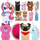 3D Cute Cartoon Funny Limited Silicone Phone Case Cover iPhone SE 5 5s 6 6S Plus
