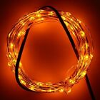 Elcpark Yellow LED Starry Wire Light For Holiday Decoration Party Garden Tree