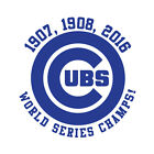 Chicago Cubs World Series Champions 2016 baseball vinyl decal car bumper sticker on Ebay