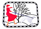 8, Or 4 Coloured-In Winter Walk Die Cuts/ Dog/Woman Christmas Js Any Colour/Card
