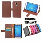 "For 5.2"" Huawei Honor 5C Card Slot Wallet Leather Case Cover Skins yw"