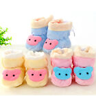 Cute Soft Unisex Baby Infant Socks Winter Warm Crib Prewalker Shoes