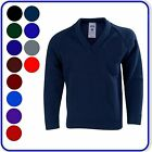 "New Good Quality Boys Girls School V-Neck Knitted Pullovers Sizes 22""-38""(2400)"