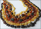 Raw Baltic Amber Adult Necklaces