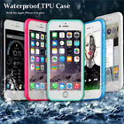 TPU WaterProof ShockProof DirtProof Thin Case Cover For Iphone 6/6s 6/6s Plus