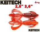 KEITECH CRAZY FLAPPER All Sizes Soft Bait Strong Scent Made in Japan Lure Bait