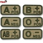VIPER BLOOD GROUP RUBBER PATCH MEDICAL VCAM CADET MARINE SAS BRITISH ARMY