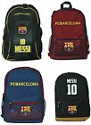 FC Barcelona Messi 10 Soccer Backpack Mochila Bookbag Cinch Official Licensed