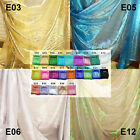 Exx  Pearlescent Metallic Glitter Sparkle Organza Sheer Fabric dress Material