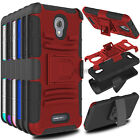Phone Aromr Hard Case With Blet Clip Cover For Alcatel One t