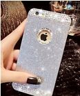 NEW LUXURY DIAMOND BLING GLITTER PHONE COVER CASE WITH BACK HOLE I PHONE 5 AND 6